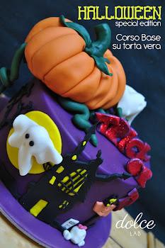 Corso Base su torta vera Halloween Edition