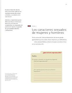 Apoyo Primaria Ciencias Naturales 4to grado Bloque I tema 1 Los caracteres sexuales de mujeres y hombres