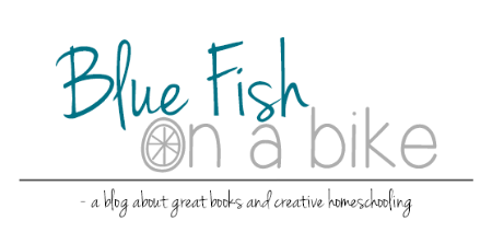 Blue Fish On A Bike