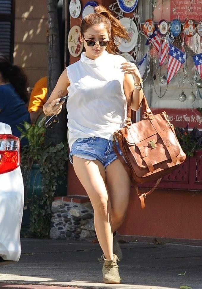 Brenda Song Booty in Shorts