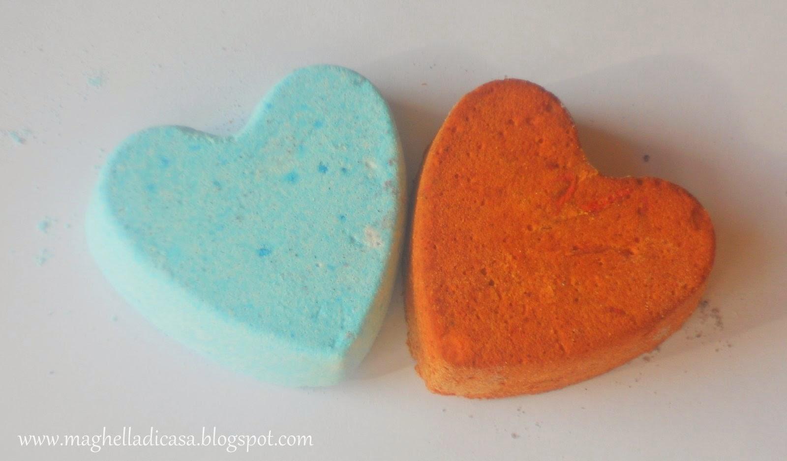 Pastiglie effervescenti bagno fai da te maghella di casa - Bagno di colore fai da te ...