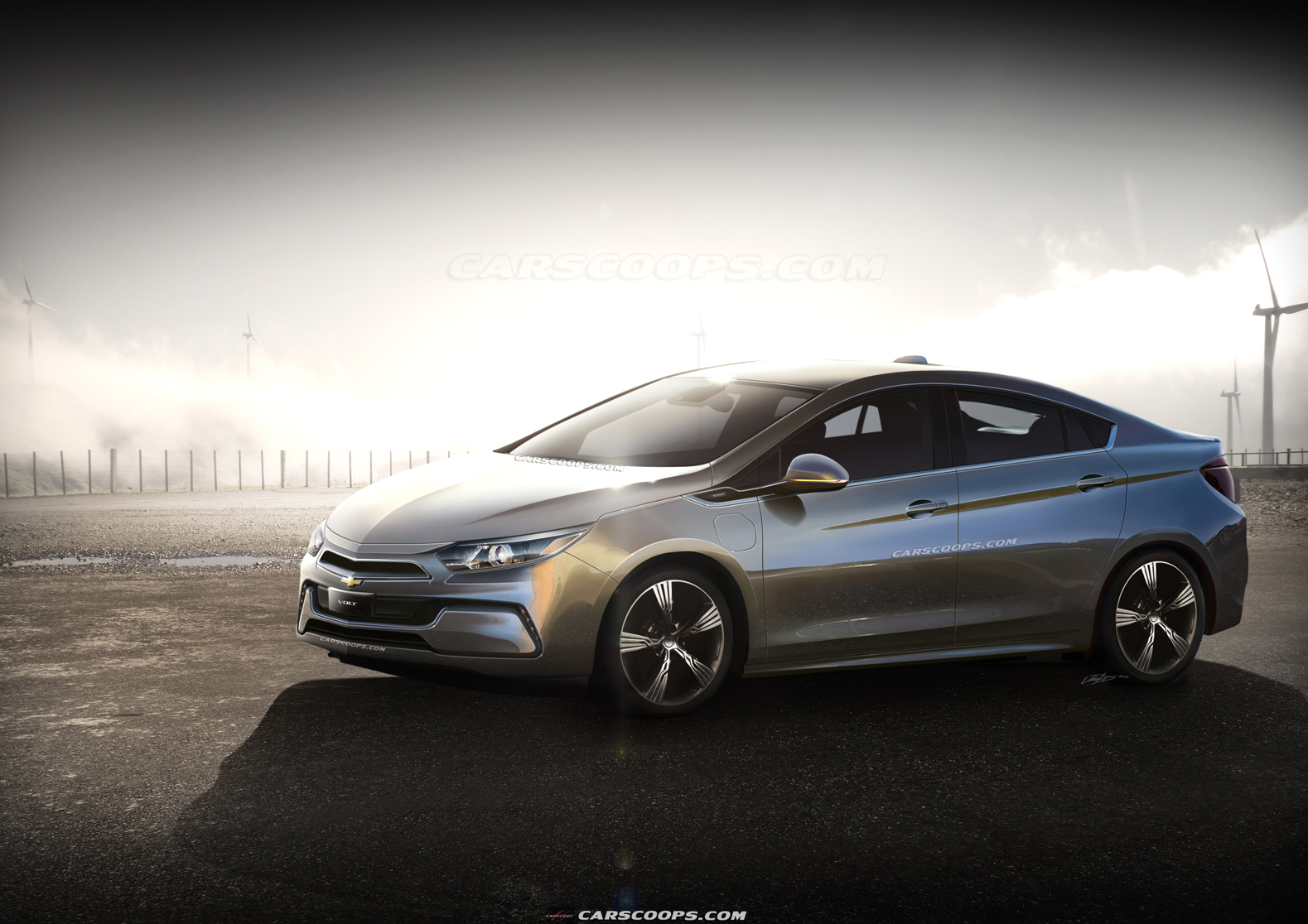 Future Cars Chevrolet Amped For Next Generation 2016 Volt