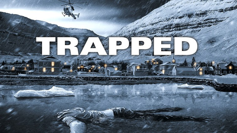 fångade isländsk serie