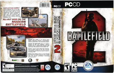 Jogo Battlefield 2 PC DVD Capa