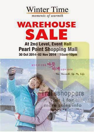 Winter Time Warehouse Sale kuala lumpur