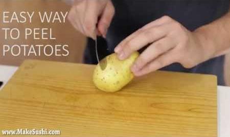 Amazing Potato Peeling Trick!