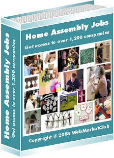 "Work at Home Opportunities - ""Home Assembly Jobs Package"""