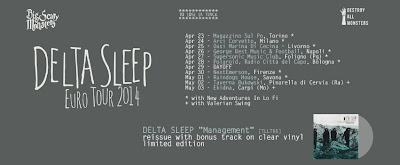 Delta Sleep (UK) + New Adventures in Lo-Fi italian tour