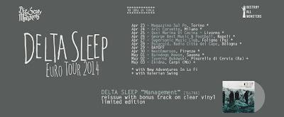 Delta Sleep (UK) + New Adventures in Lo-Fi italian tour