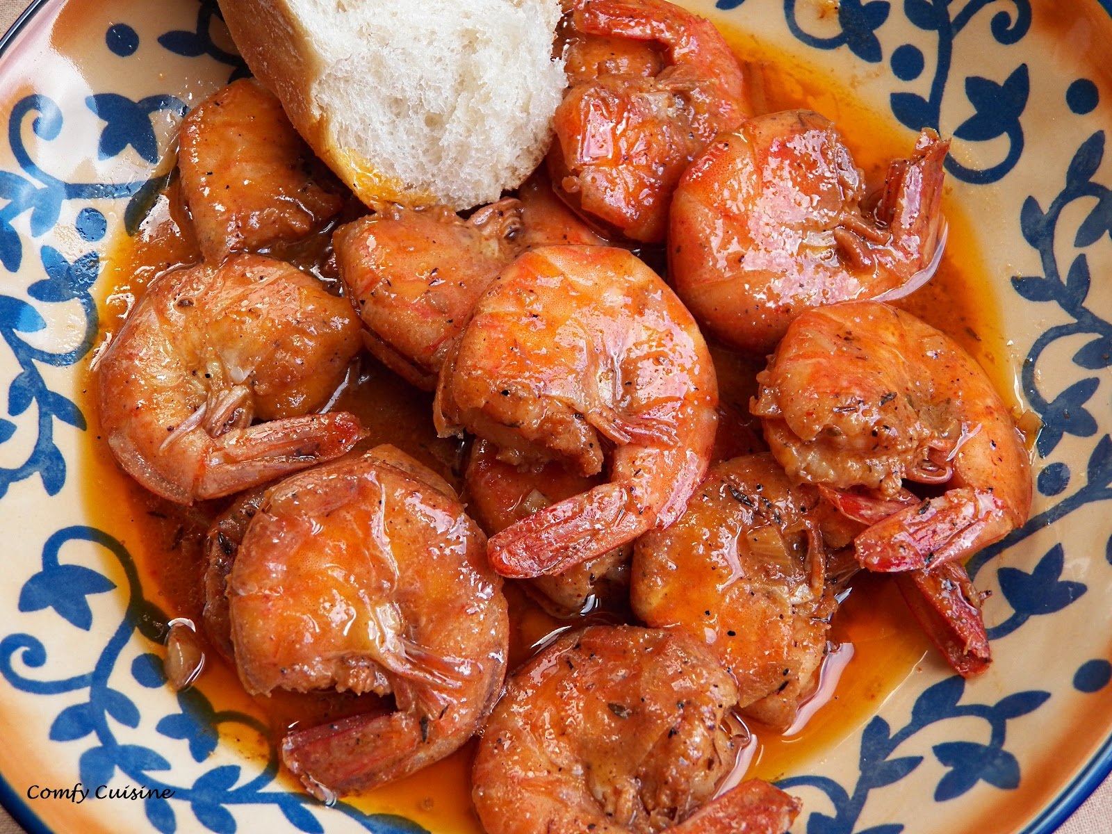 Comfy Cuisine: New Orleans-Style Garlic BBQ Shrimp