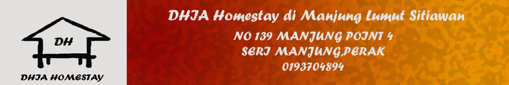 DHIA Homestay Manjung Lumut Sitiawan