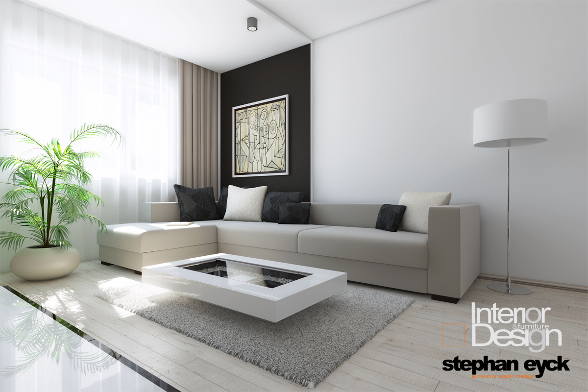 Design interior apartament braila livingroom for Interior decorating vs design