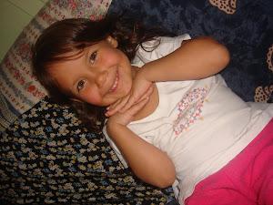 Minha netinha Caroline