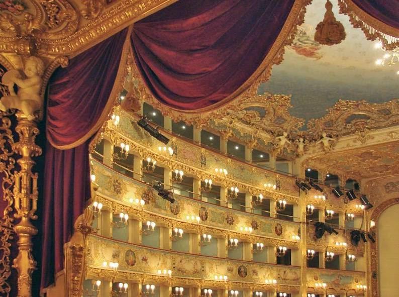 Уроки итальянского, театр