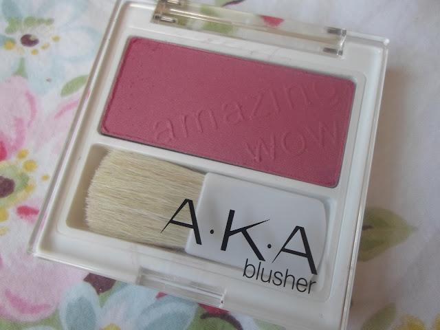 a.k.a blusher embarrassed glow