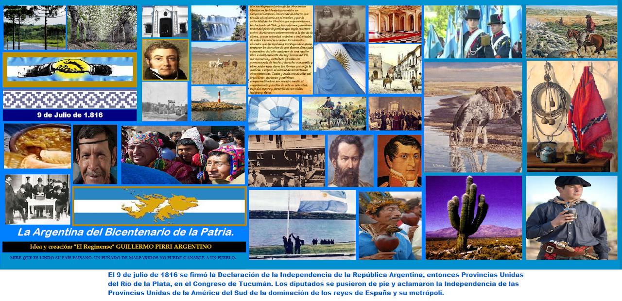LA ARGENTINA DEL BICENTENARIO DE LA PATRIA.