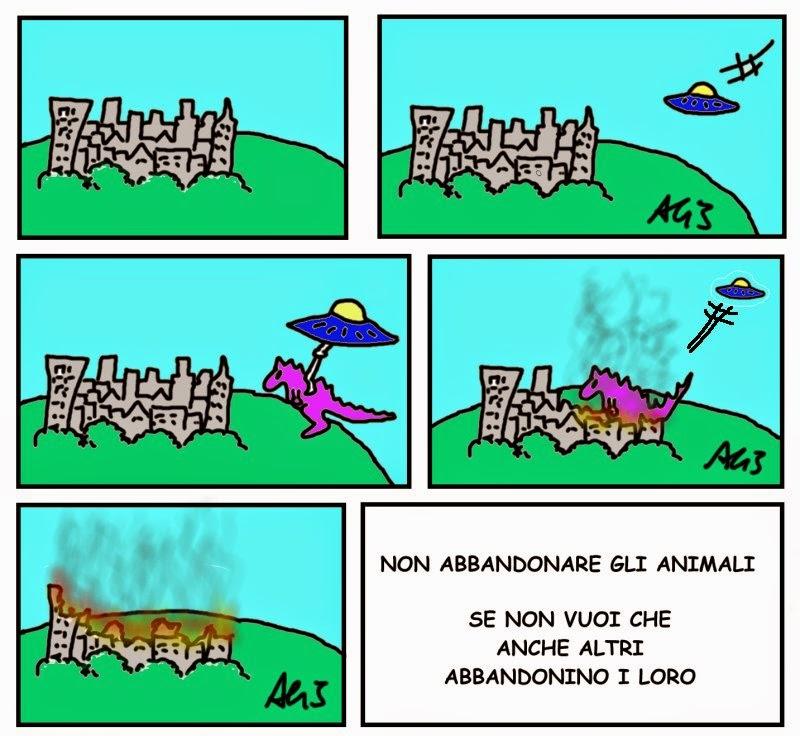 Abbandono animali