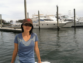 Flygirl Hyun Kounne, Montauk NY