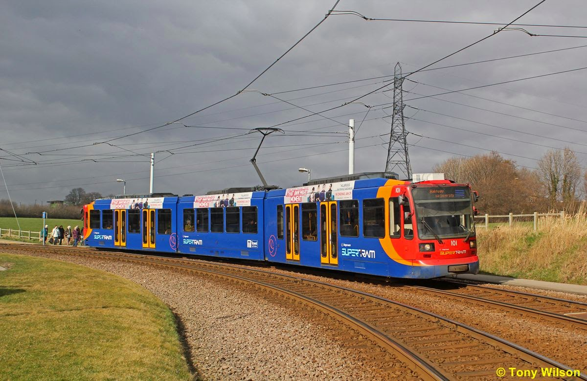 In Pictures: Stagecoach Supertram in the snow | British Trams ...