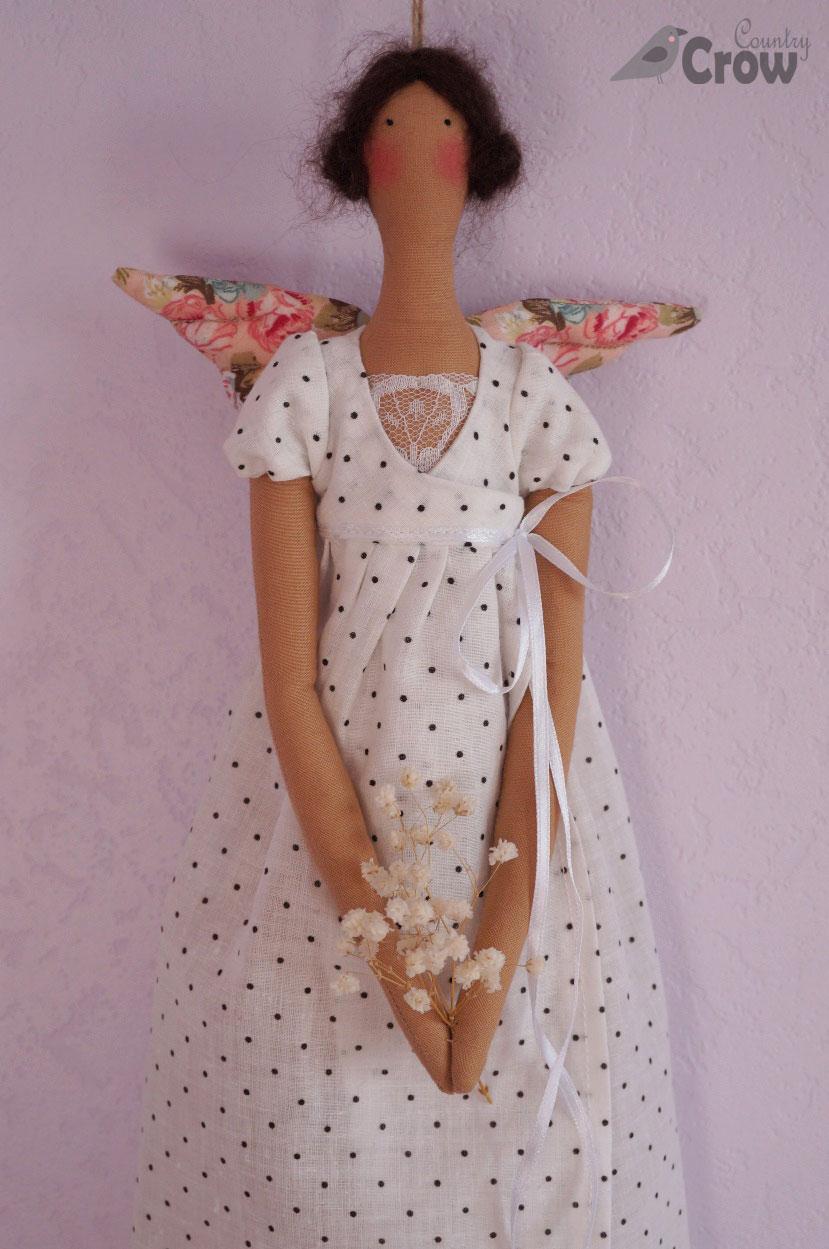 tilda lavender angel тильда лавандовый ангел
