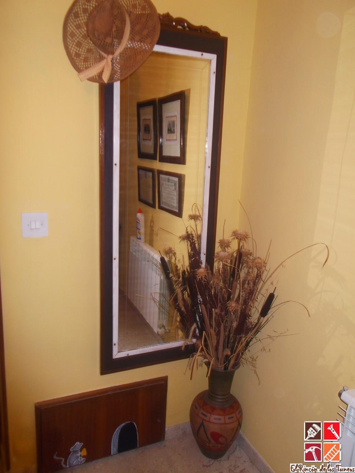 El rinc n de los tuneos de puerta de armario a espejo for Puertas recicladas para decorar