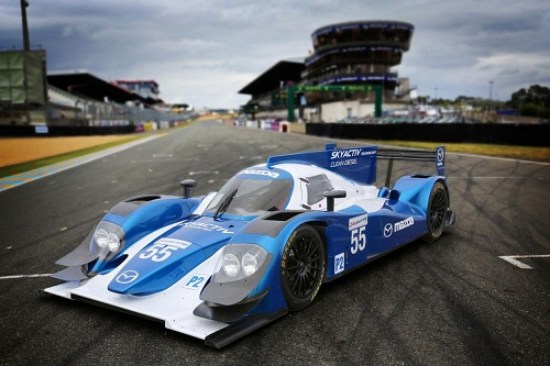 Mazda Le Mans LMP2 SKYACTIV-D race car