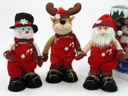 Moldes peluches navideños - Imagui