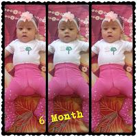 Yui umur 6 bulan