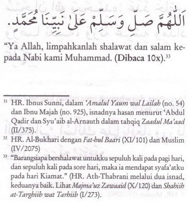 bacaan shalawat nabi muhammad saw yang pendek