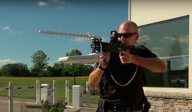 Drone Kovucu Tüfek