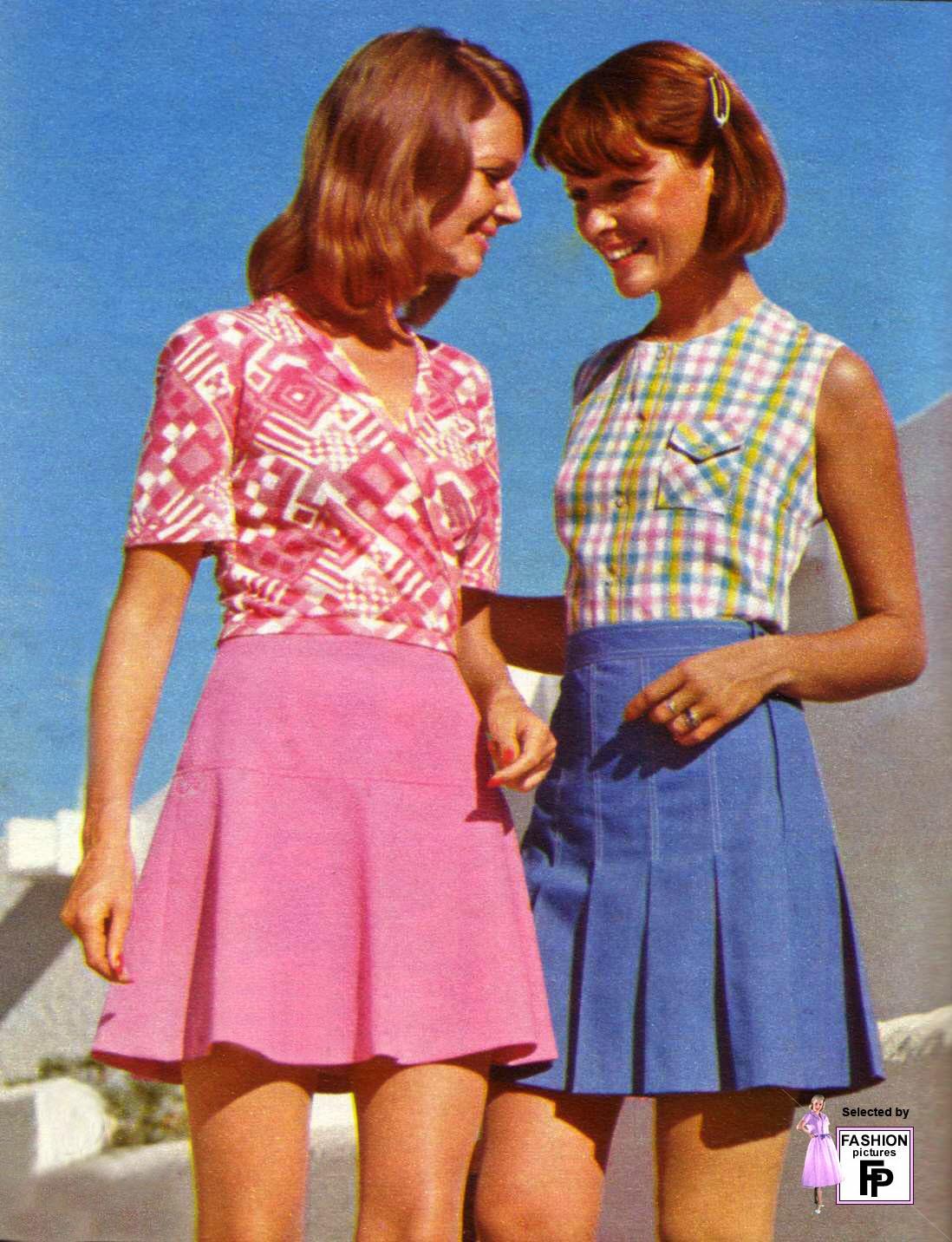 Фото моды 1970 года