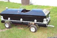 Jones's mobile casket.