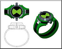 Relógio Omnitrix Ben10