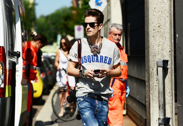 Men's street style fashion
