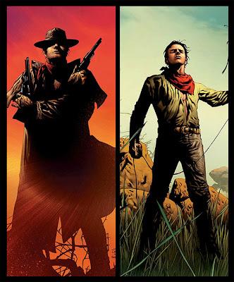 Viñeta del comic de La Torre Oscura