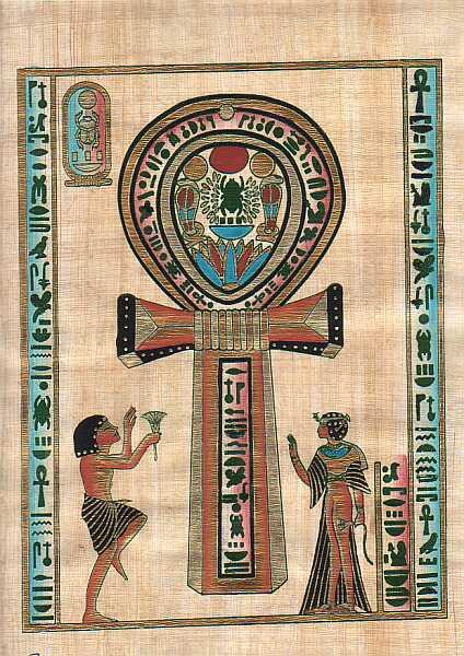 Il significato dei simboli: l Ankh o croce ansata - Stregoneria Pagana