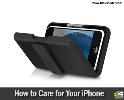 how to care your iphone