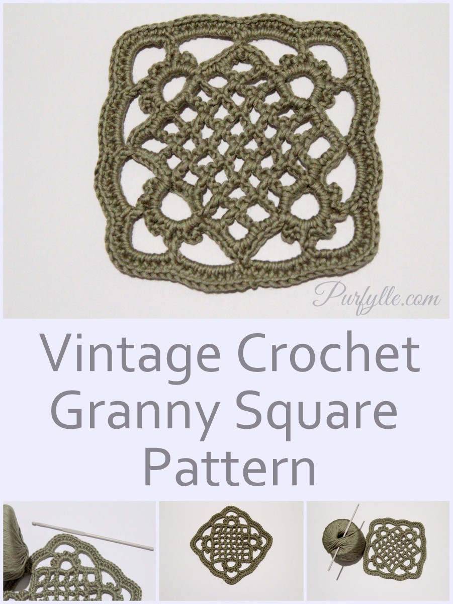 Purfylle: Eivor\'s Crochet Granny Square Pattern