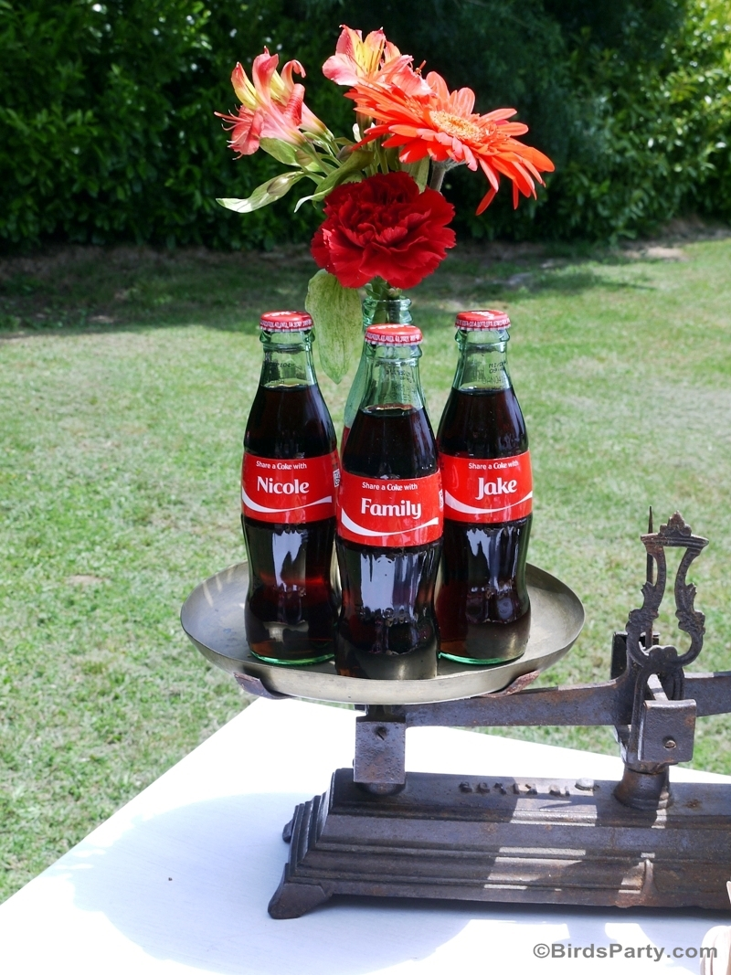 Barbecue party avec coca cola f tes party printables - Idees pour barbecue party ...