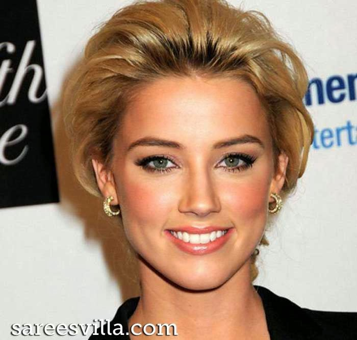 American actress and model Amber Heard
