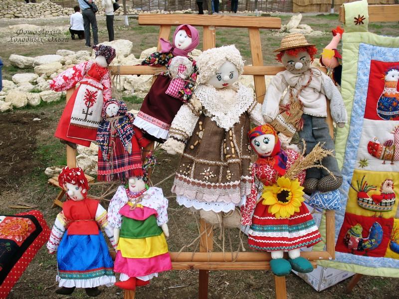 славянские куклы