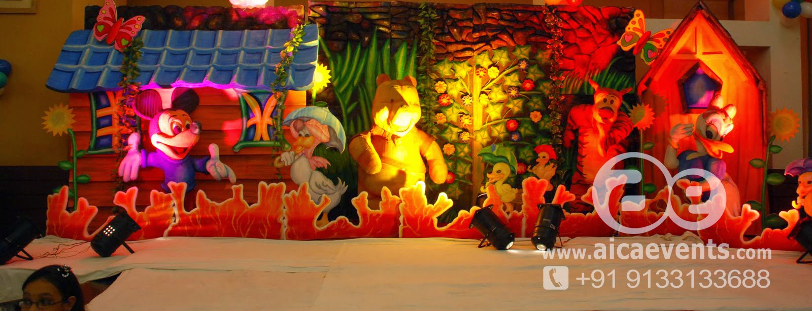 Aicaevents India Nursery Rhyme Birthday Party