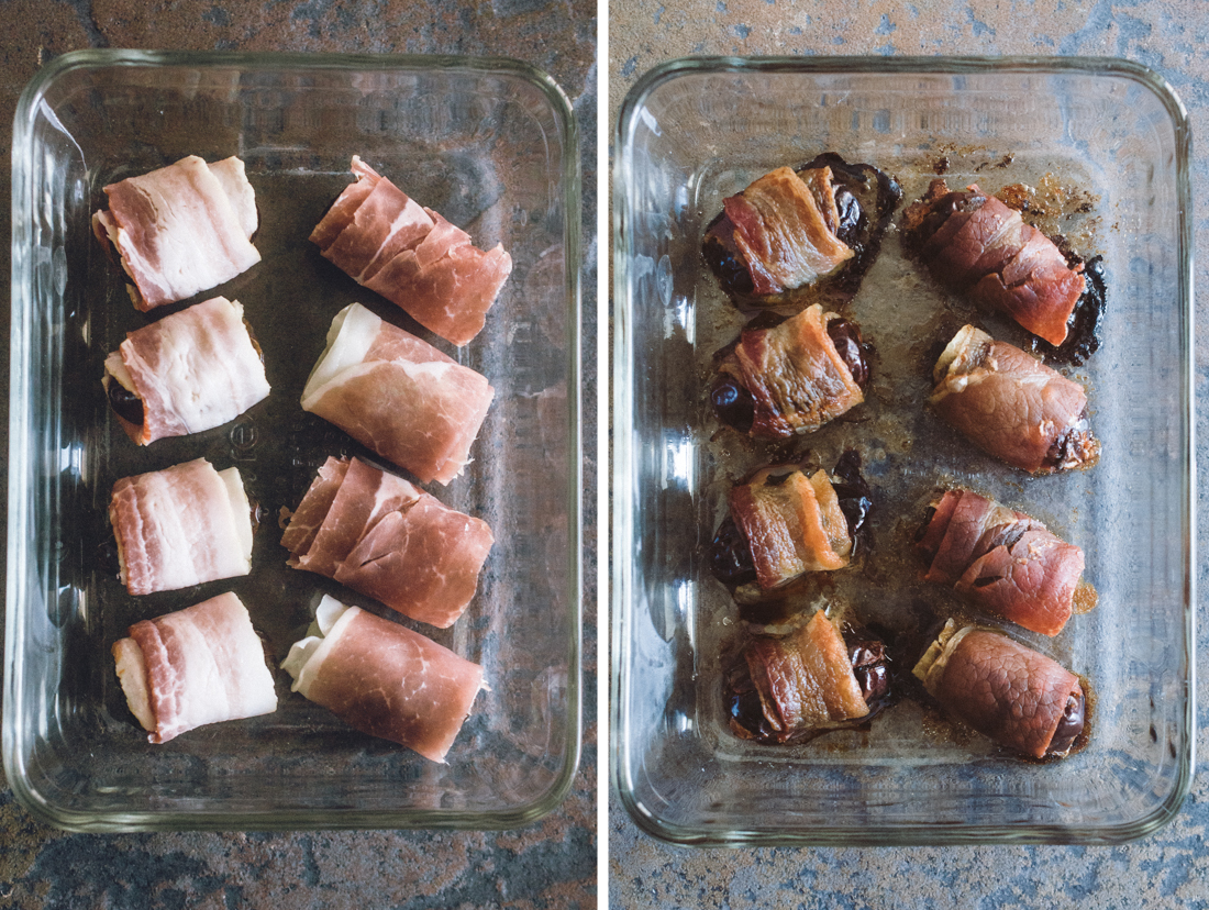 Bacon & Prosciutto Wrapped Dates (AIP)