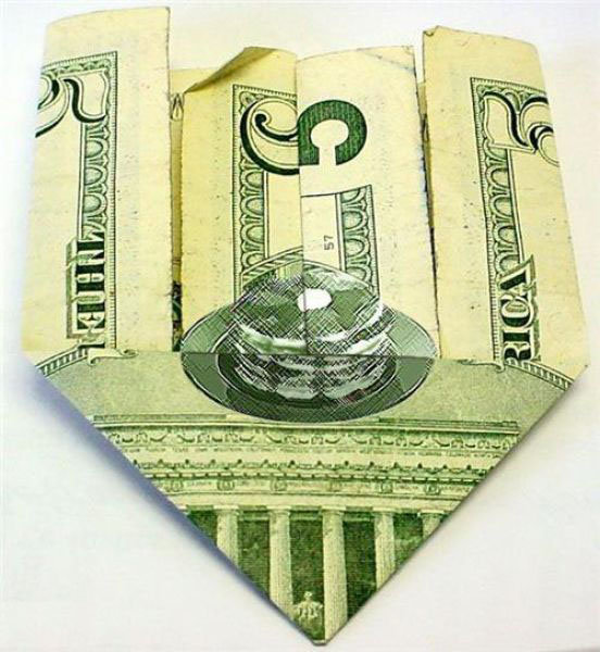 Pancakes on US $5 bill a phony