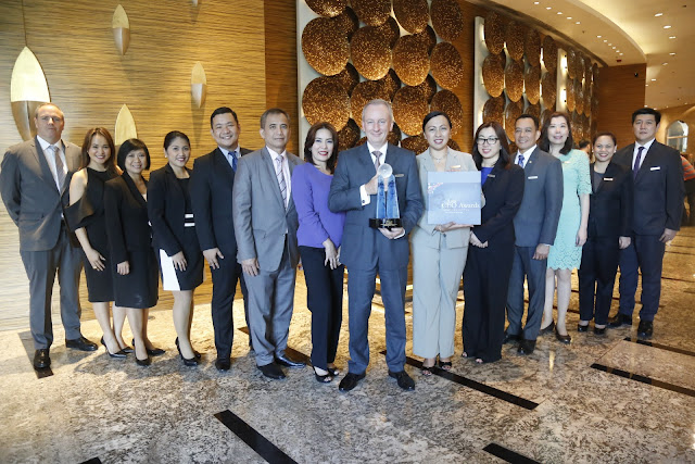 MARRIOTT MANILA: 2015 HOSPITALITY DESTINATION WINNER AT THE ASIA CEO AWARDS