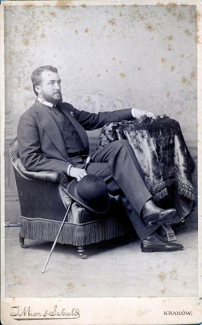 Zdzisław hr. Tarnowski (1862 – 1937) z Dzikowa, fundator obrazu Matki Boskiej Dzikowskiej do kościoła na Browarach w Końskich. Fot. ze zbiorów Jana A. hr. Tarnowskiego.