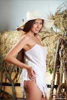 guapa en la granja