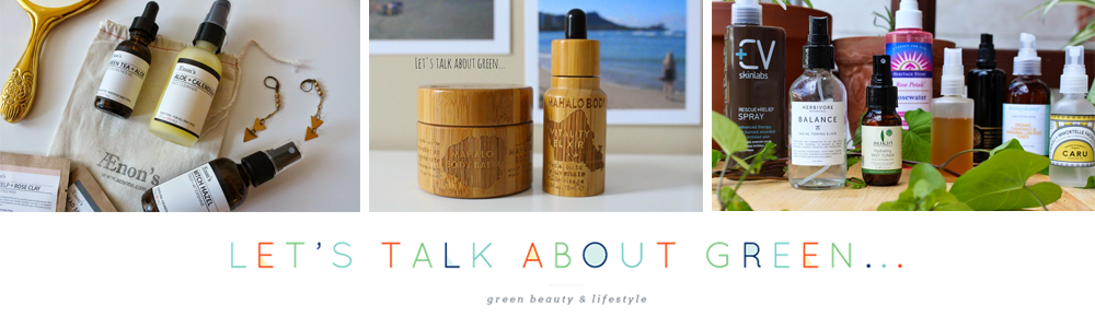 blog Let's Talk About Green