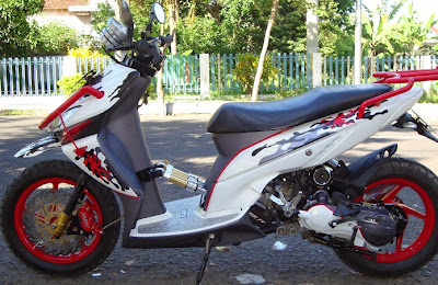 Modifikasi Motor Matic Yamaha