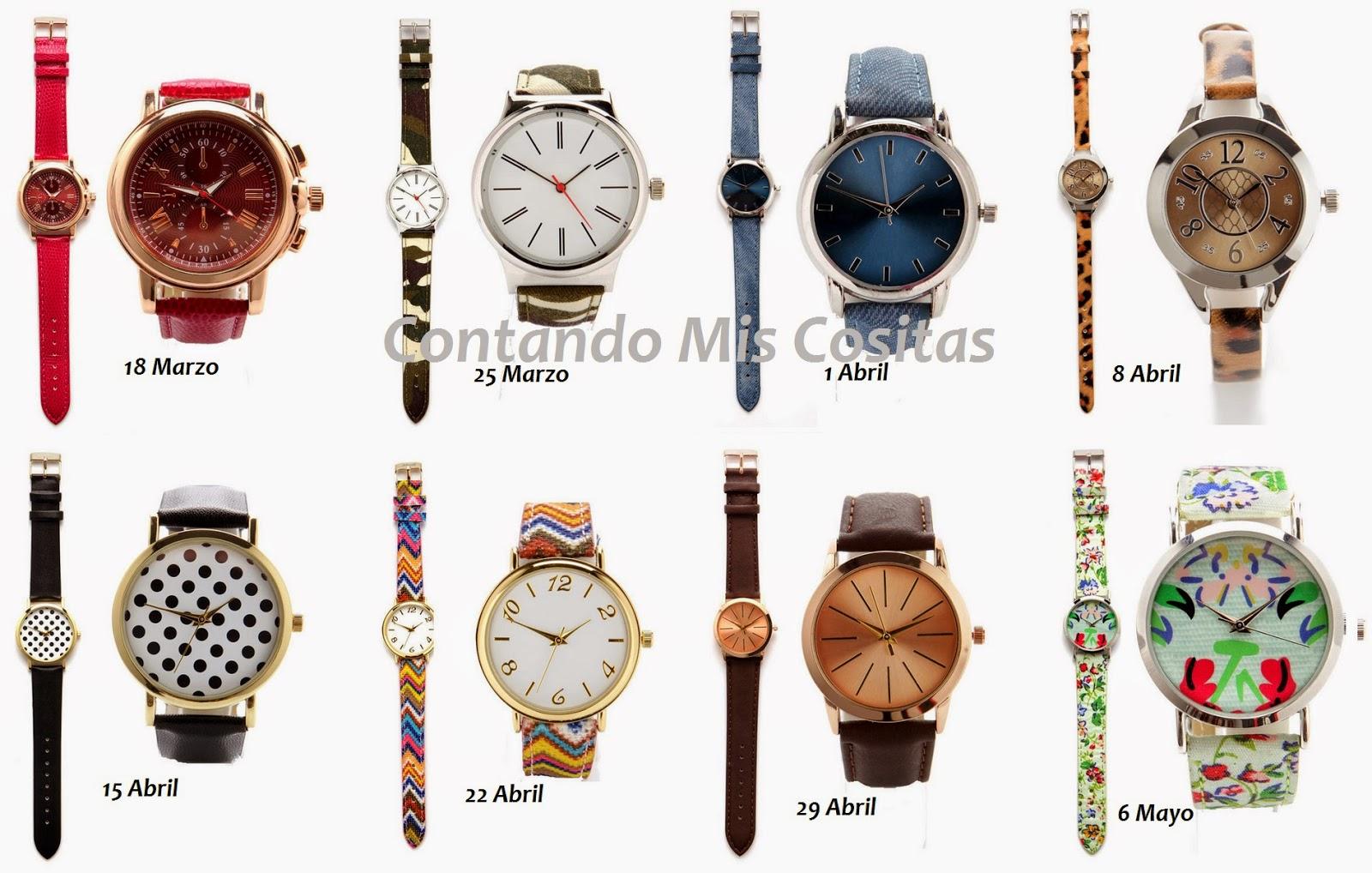 diez minutos relojes abril 2015 regalo revista